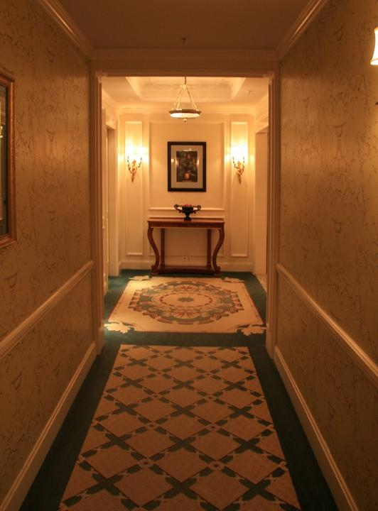 Classical design for the corridor and lift lobby. Click to see...
