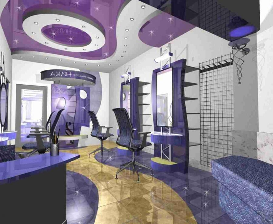 Beauty salon interior design photo for Beauty parlour interior designs