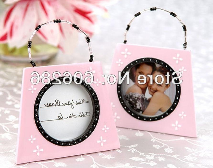Good Wishes Glass Photo Frame Place Card Holder