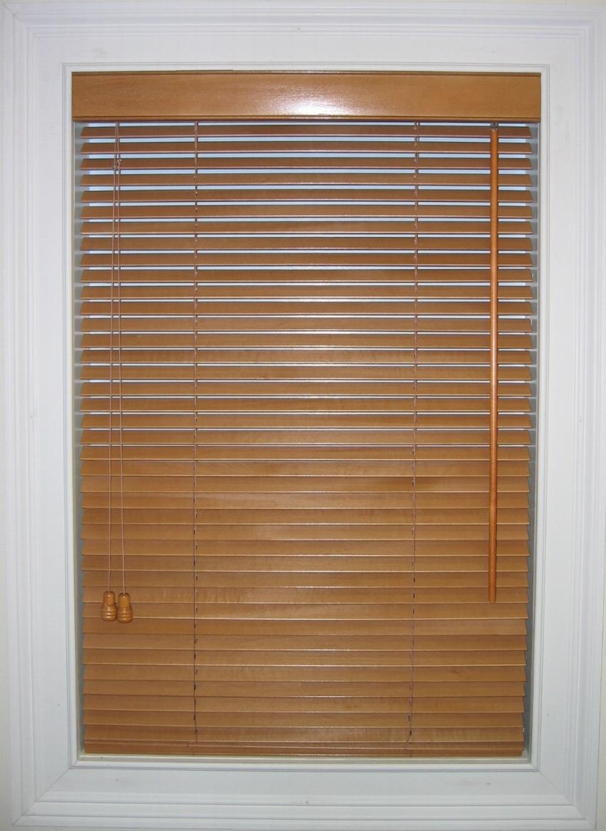 Wood blind photos for Window treatments for less