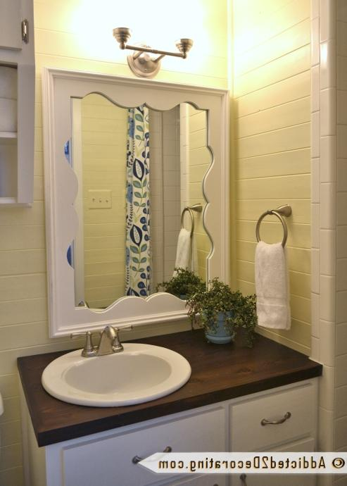 Tiny Condo Bathroom Makeover  Before and After