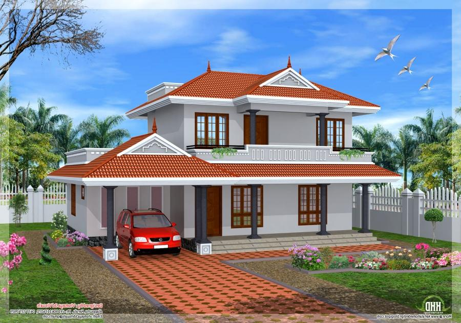 Very good house plans with photos in kerala for Good house photos