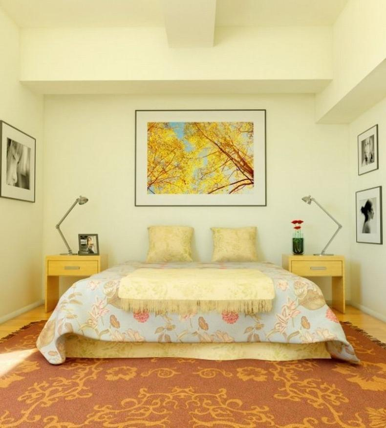 Yellow bedrooms photos for Yellow bedroom interior design