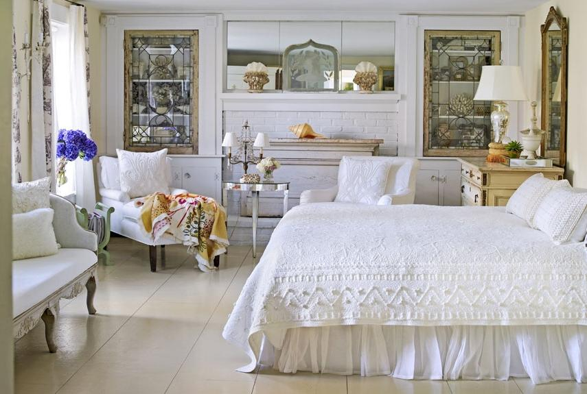 french country chic bedroom ideas