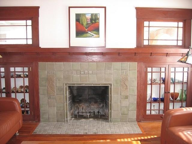 Craftsman Fireplaces Photos