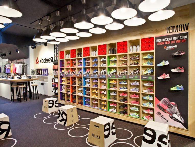 Photography of the Reebok Flagship Store in Covent Garden,...
