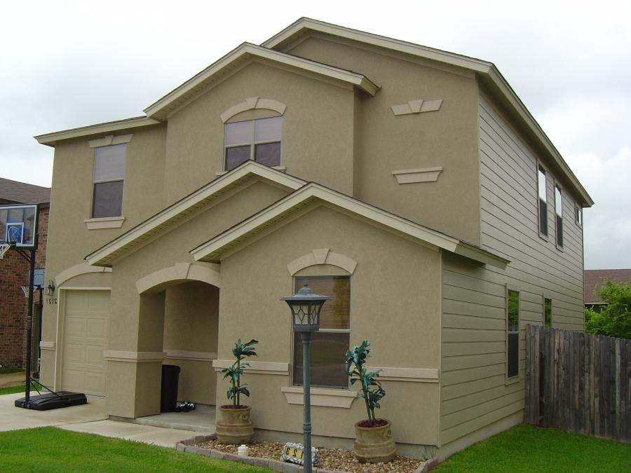 stucco homes photos