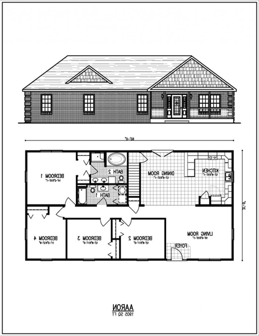 Ranch House Plan Photos