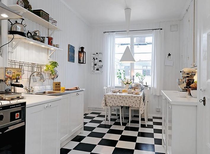 Tiny Galley Kitchen Photos