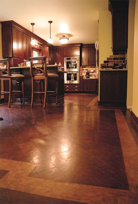 cork flooring in kitchens photos. Black Bedroom Furniture Sets. Home Design Ideas