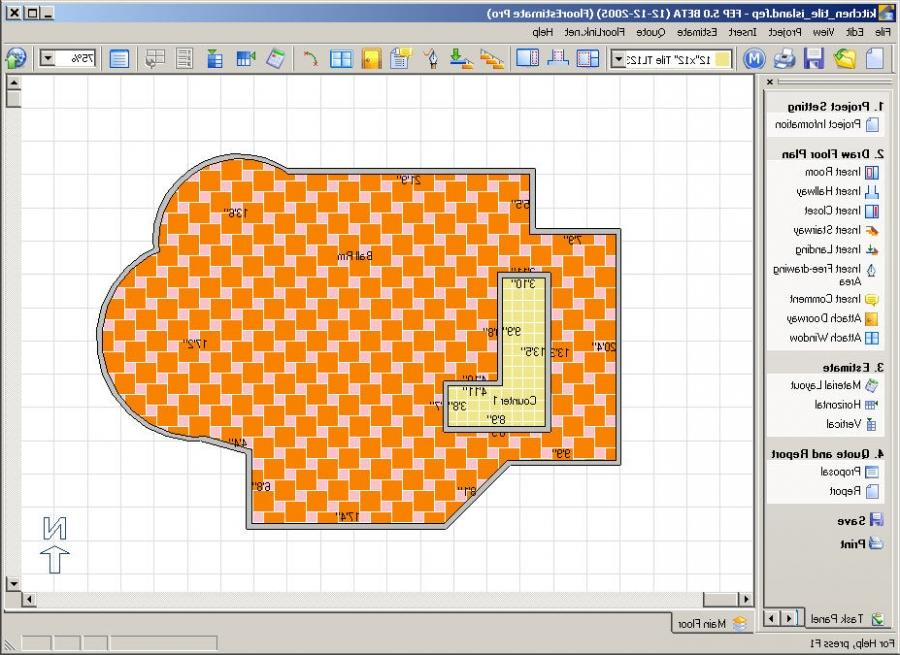 Tile photo software for Tile planning software
