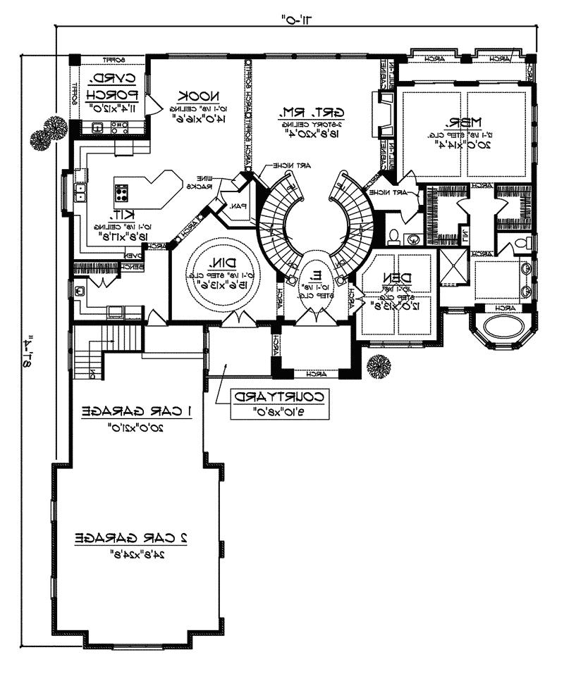Italian house plans with photos for Italian home plans