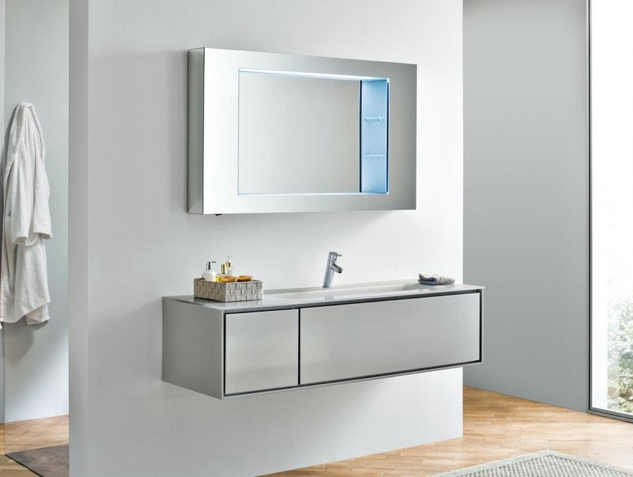 Narrow Bathroom Design Vanities