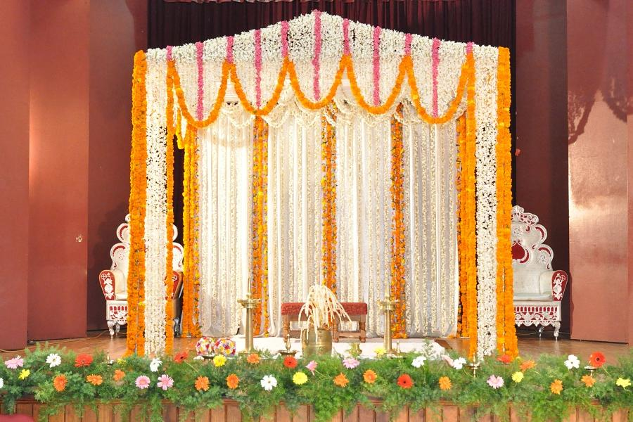 Marriage stage decoration photos with flowers - Decoration ideas trendseve ...