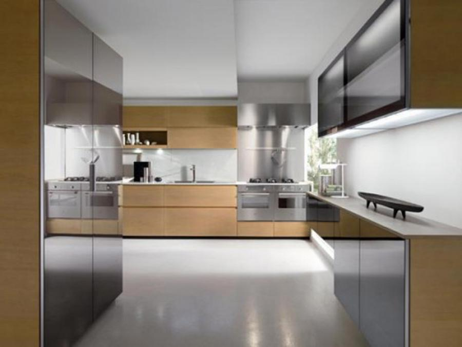 The latest fashionable kitchen colors are the black , red,...