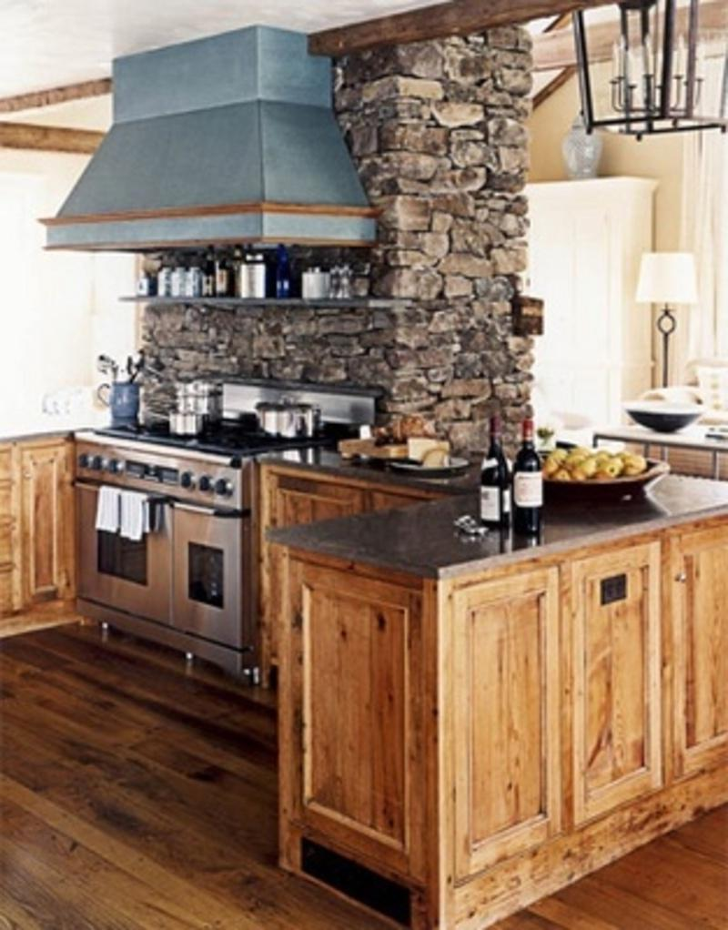 Small Rustic Kitchen Photos