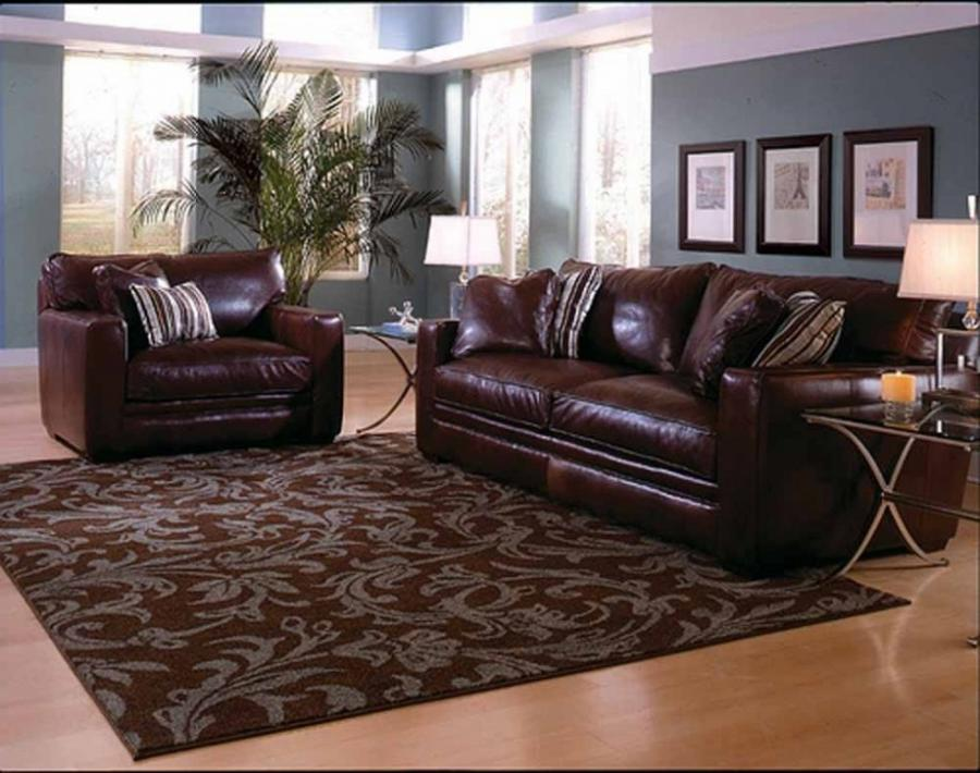 Photos Of Living Rooms With Dark Brown Sofas