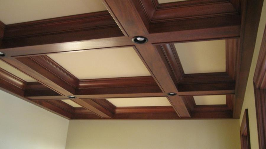 Beams In Squares Or Rectangles With Crown Up Against The Ceiling