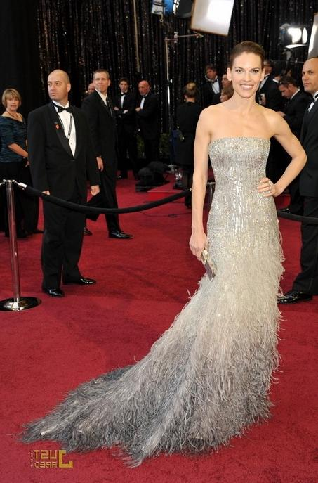Hilary Swank at Oscars 2011 Red Carpet 150x150 Celine Dion at...