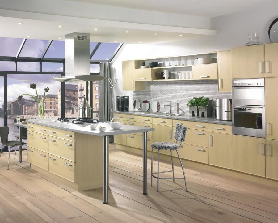 Open Contemporary Kitchen Design eas iDesignArch Interior Kitchen...