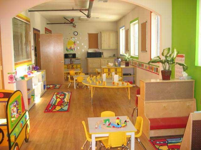 Modern Classroom Themes ~ Preschool classroom decorating ideas photos