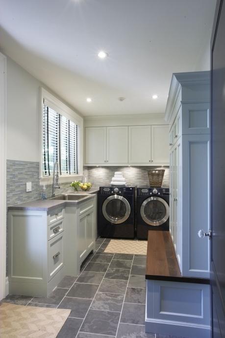 Meredith Heron Design Laundry Room