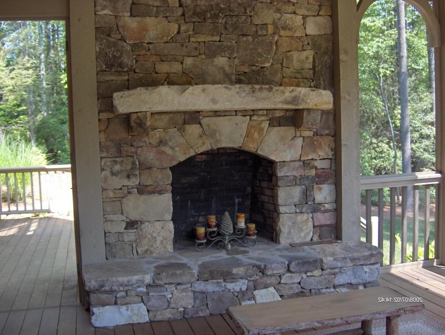 Architecture : Amusing Inspiration Fireplace Stunning Stacked...