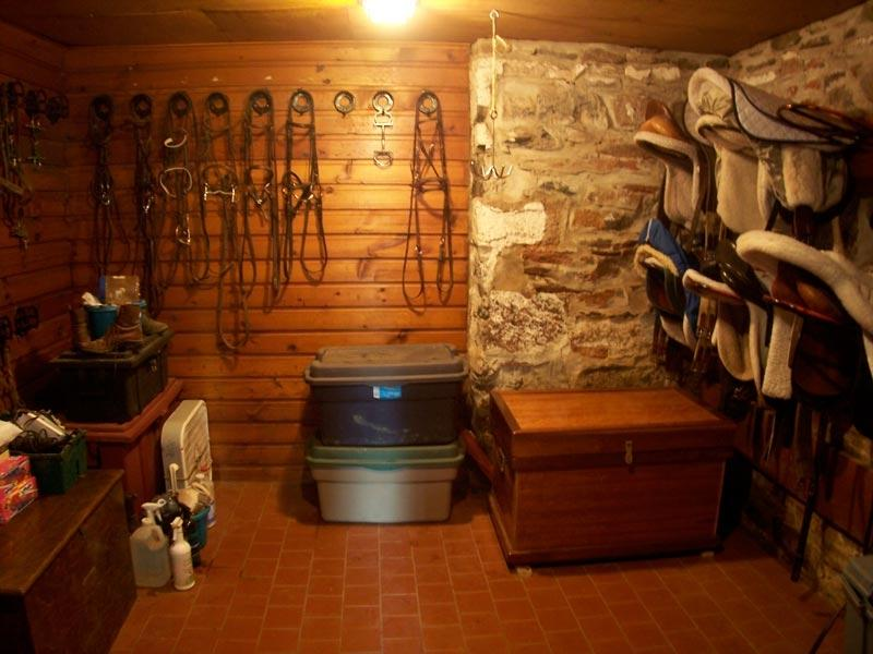 Tack Room Layout Photos