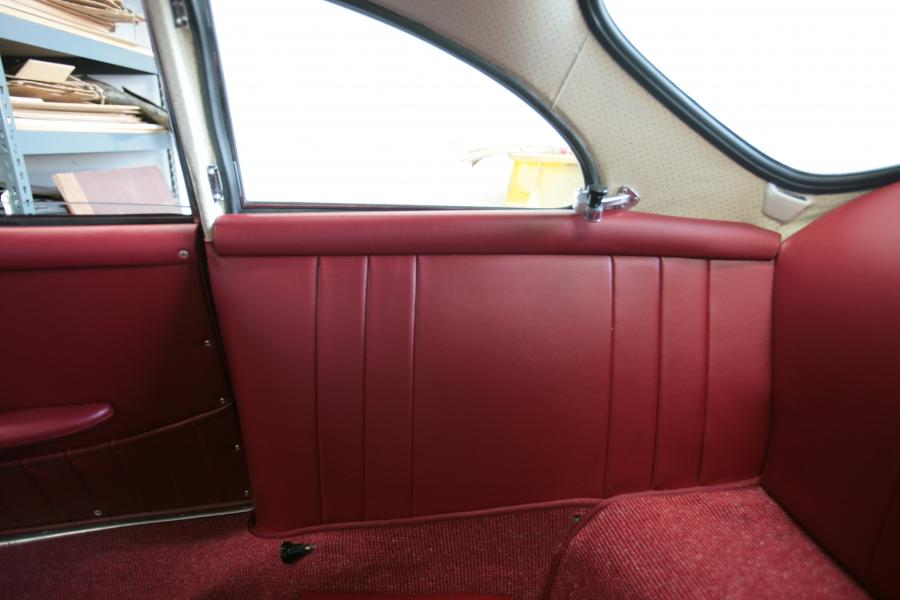 Porsche 356 interior photos