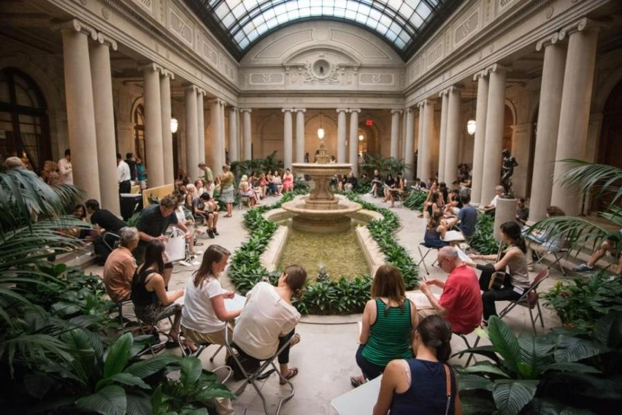 Lucas Chilczuk The Frick will host a sketching class on Motheru...