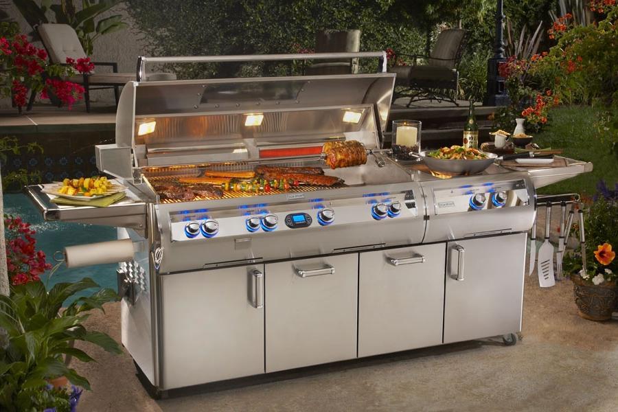 Outdoor kitchens photos for Cheap outdoor kitchen ideas