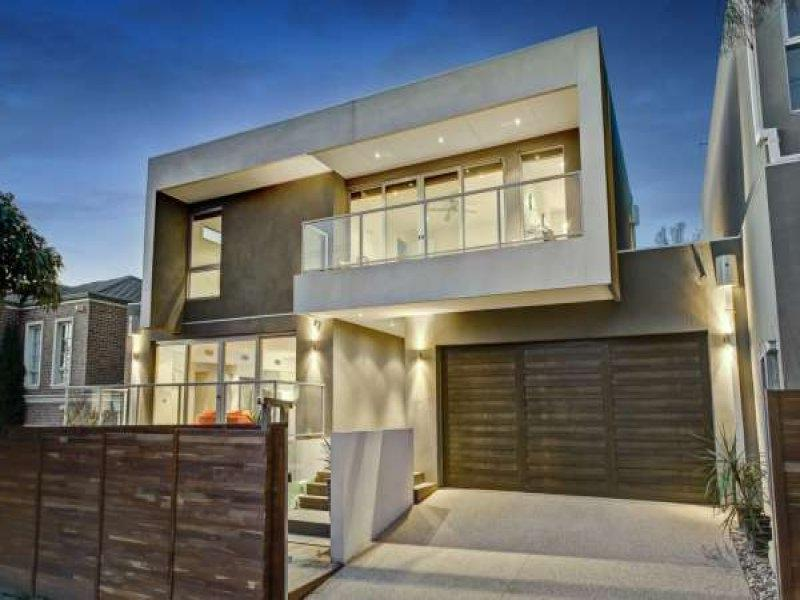 Photo of a concrete house exterior from real Australian home -...