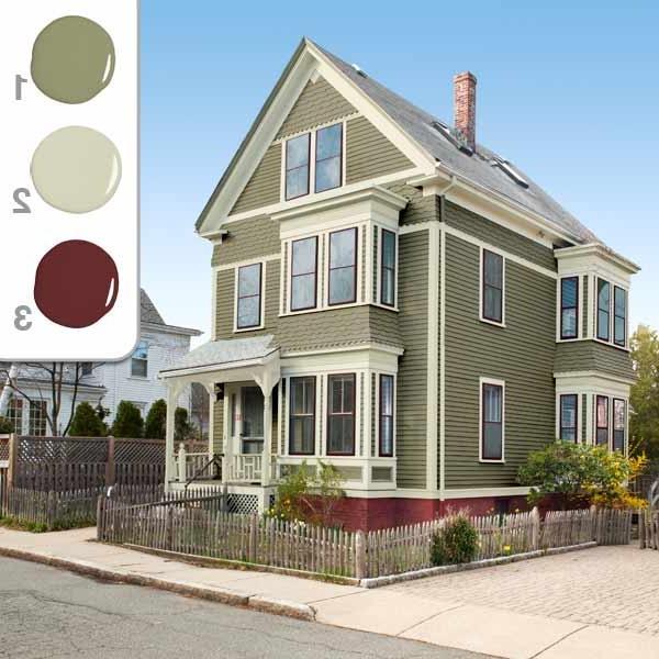 Exterior House Color Photos