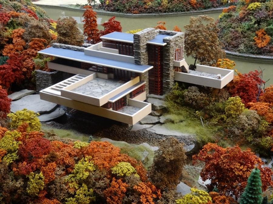 Frank lloyd wright falling water house photos - Maison sur la cascade ...