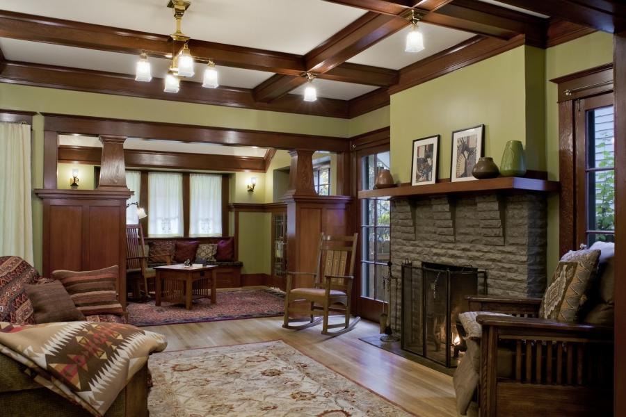 Craftsman Interior Photos