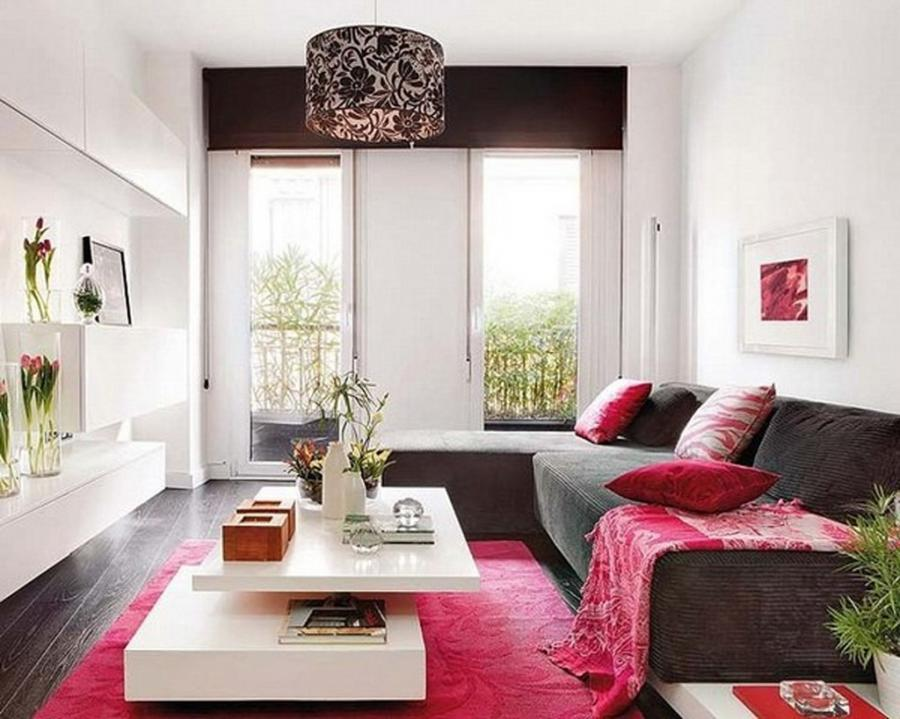 ... Modern Living Room For Small Apartment Decoration Modern...