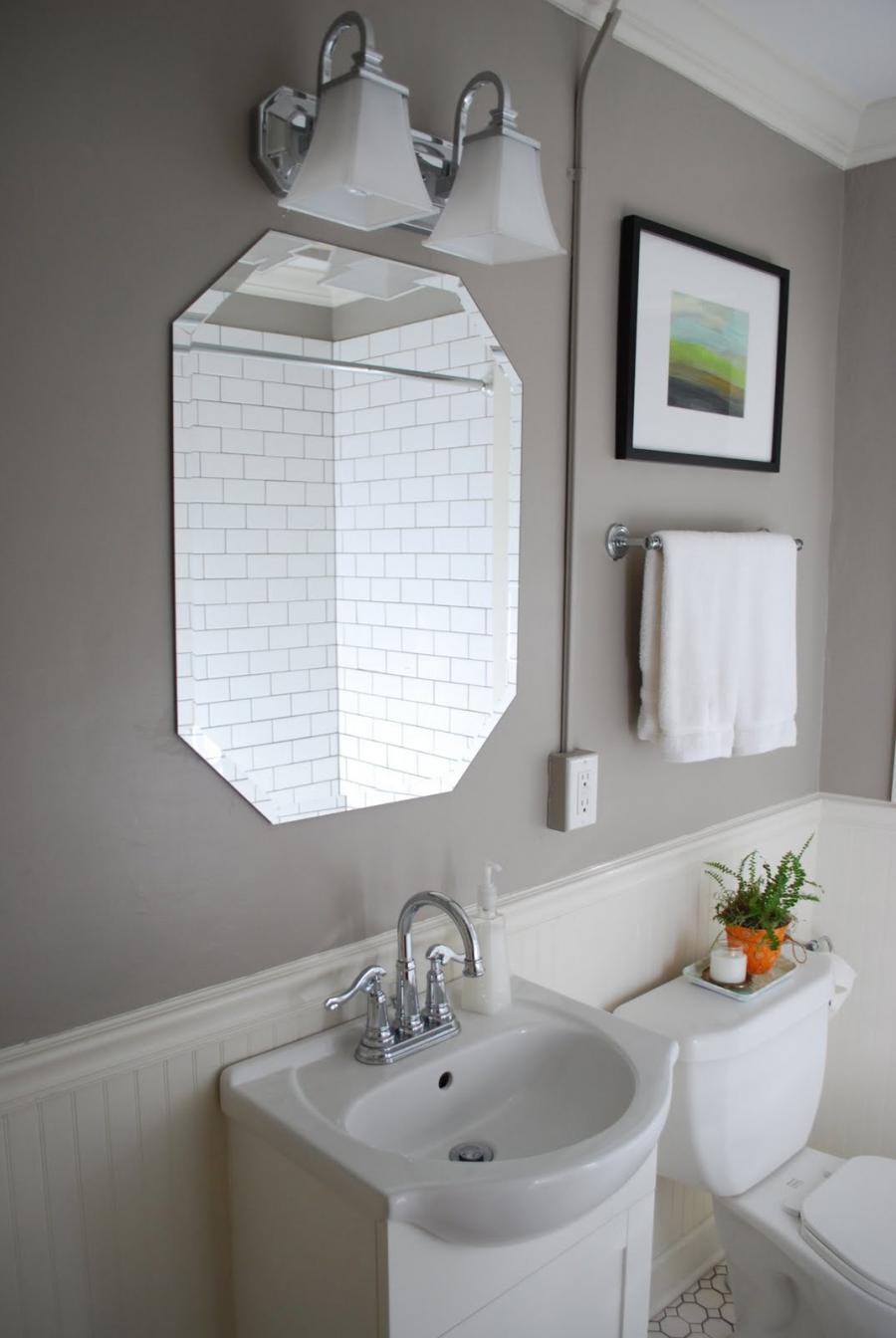 Beadboard in bathroom photos