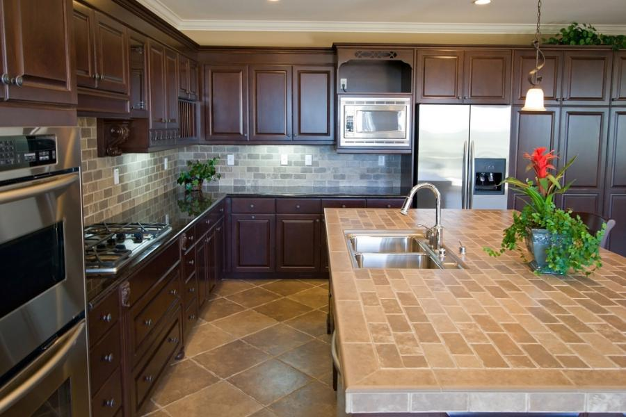 Porcelain Kitchen Countertops Photos