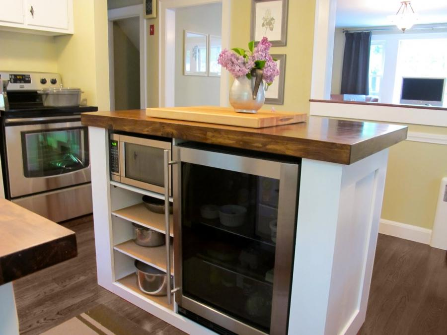 custom made kitchen island idea