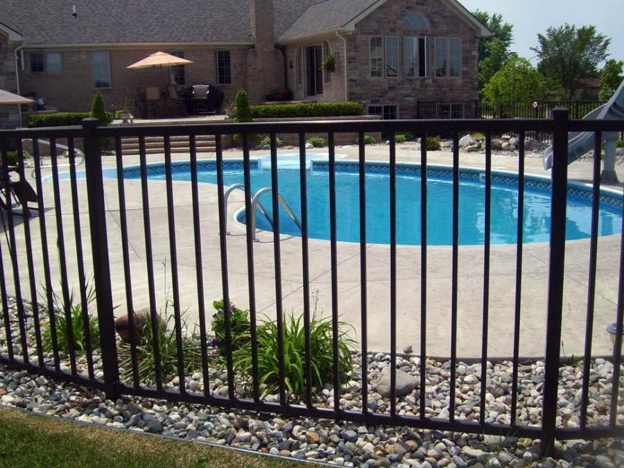 Pool fence installation repair in michigan d fence llc source