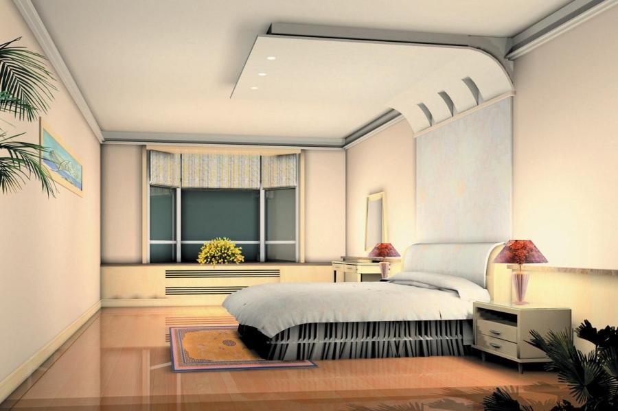 modern plaster of paris ceiling for bedroom designs 12 Plaster of...