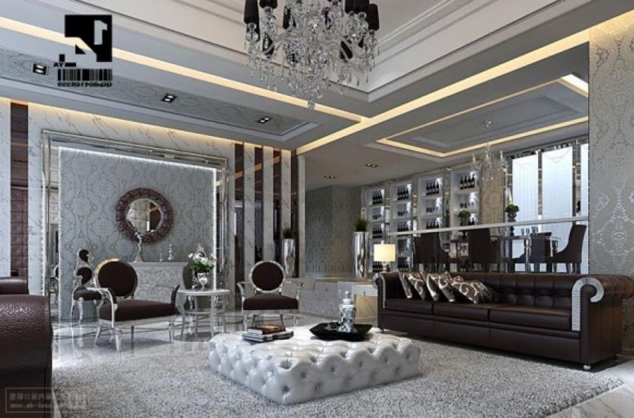 Арт-деко стиль в дизайне интерьера