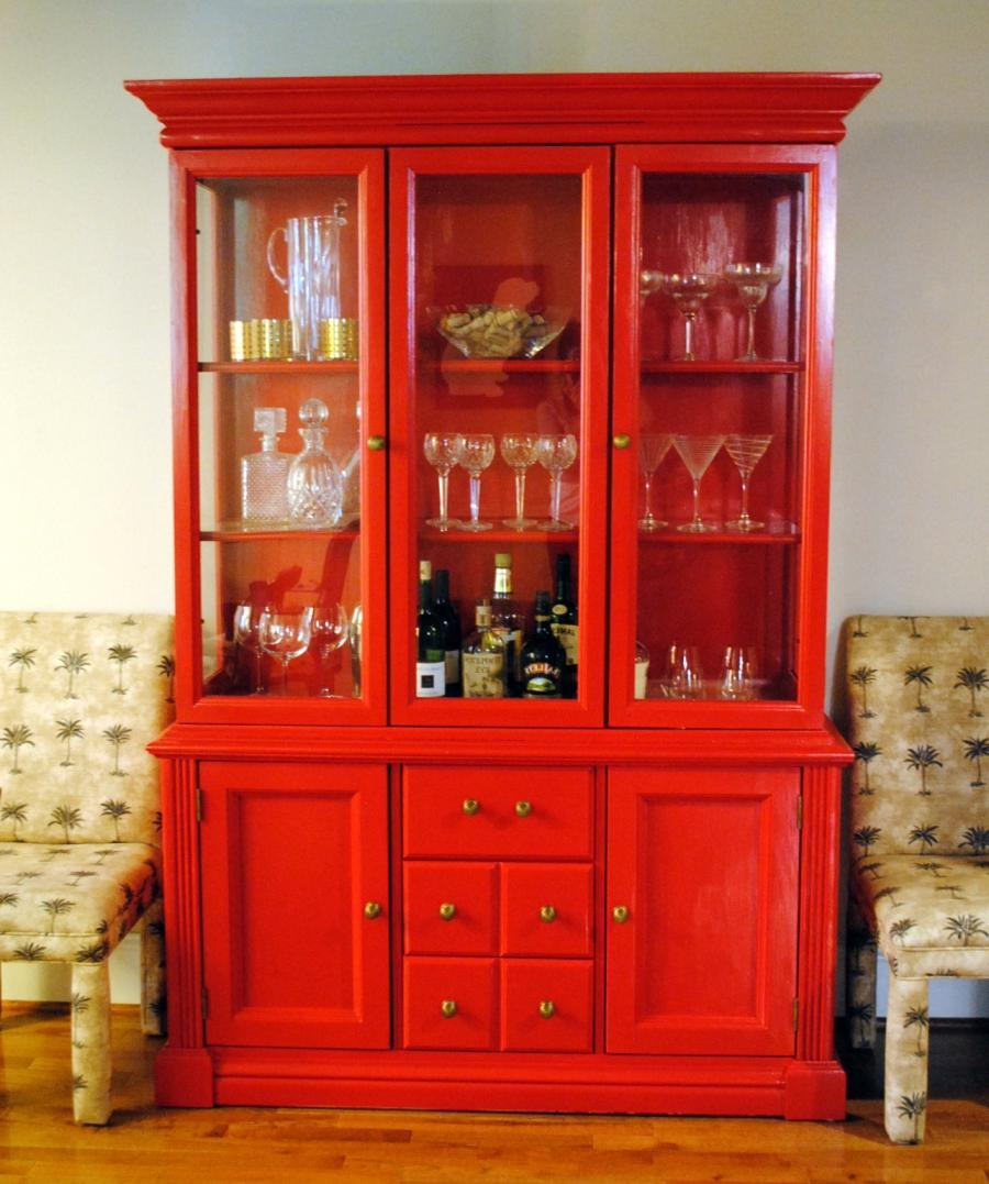 If you entertain a lot, a simple bar cart may not do the trick....