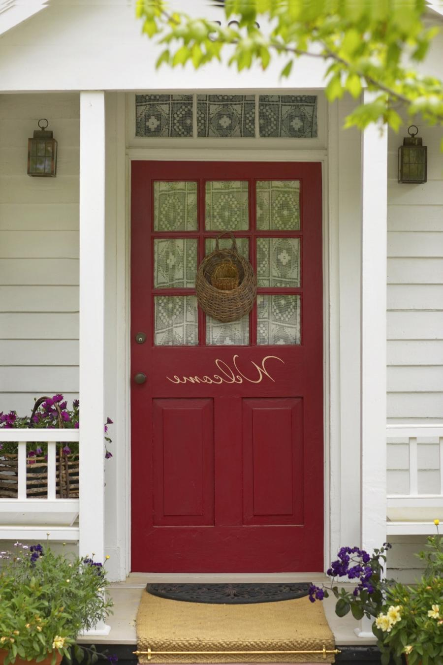 64 Simple Interesting Southern Front Door Design Ideas Wood Front...