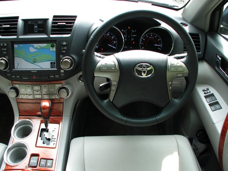 2007 Toyota Highlander Interior Photos