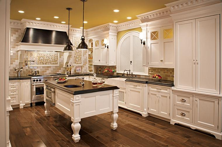 Luxury Kitchens Kitchen Design for A Gorgeous And Elegant Looking...