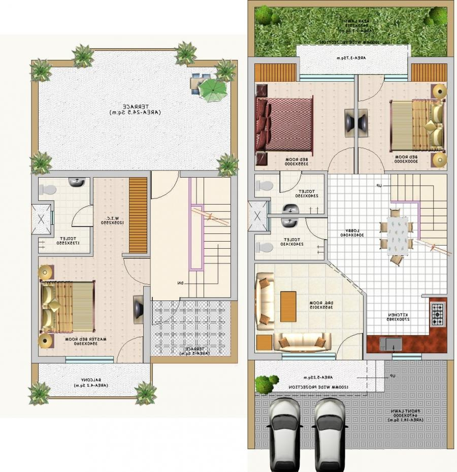 Duplex house plans with photos for Duplex house plans gallery