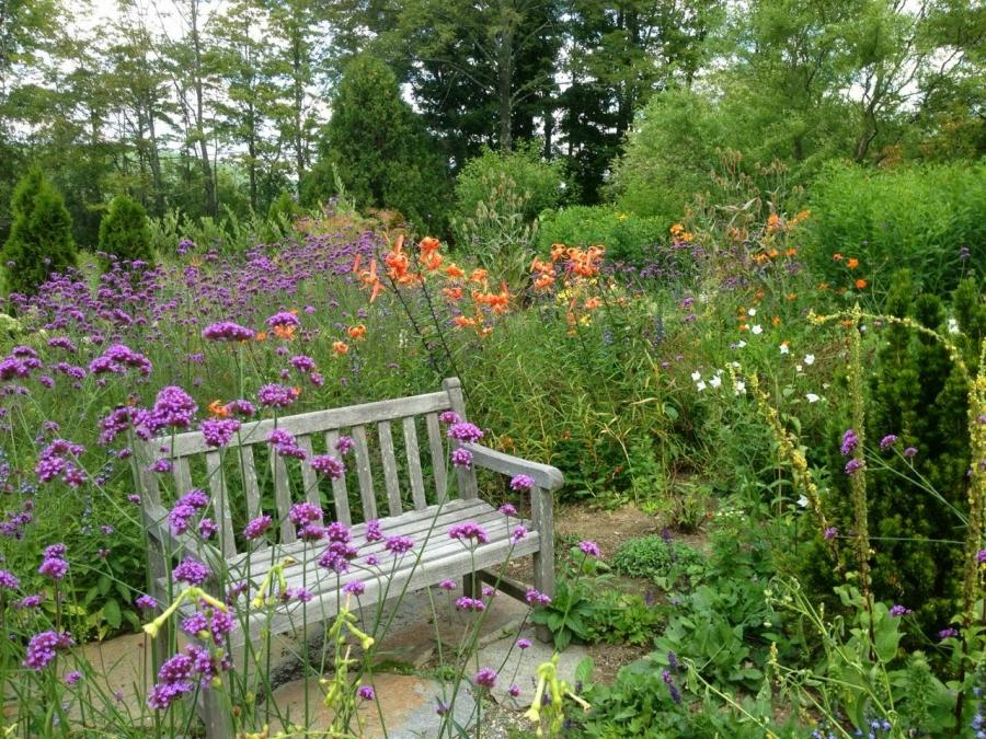 A Country Garden and an Inspirational Workshop in Vermont