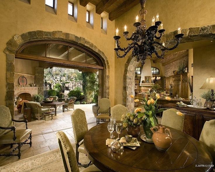 Interior Photos Of Spanish Style Homes