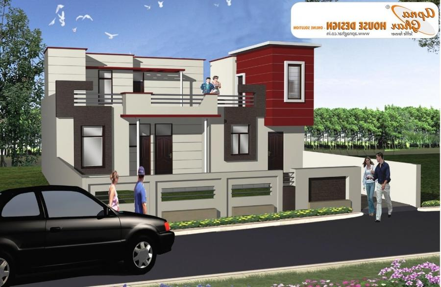 Duplex House Design ~ Complete Architectural Solution, House...